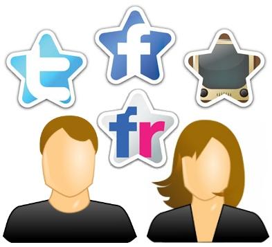 foto perfil redes sociales impacto efecto facebook twitter