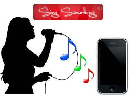sing something iphone ios aplicacion