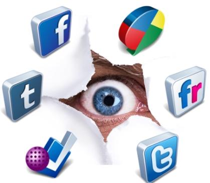 reputacion en linea redes sociales internet privacidad administrar infografia