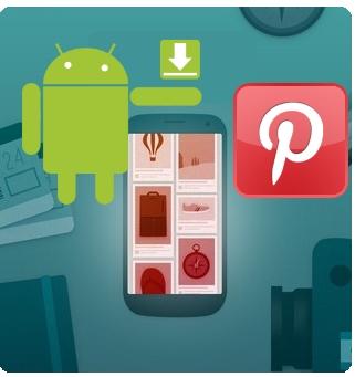 pinterest app aplicacion android