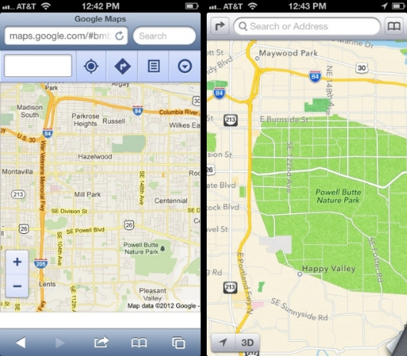 apple maps 1