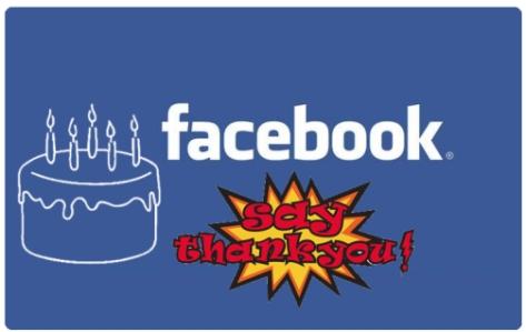 facebook cumpleaños usuarios saludos agradecer aplicacion