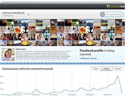secure me facebook privacidad seguridad captura aplicacion