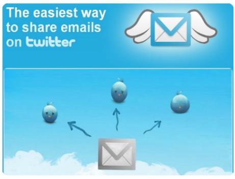 twitmail aplicacion mail twitter compartir archivos
