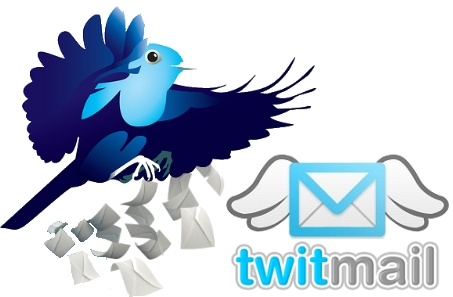 twitmail aplicacion twitter email correo electronico