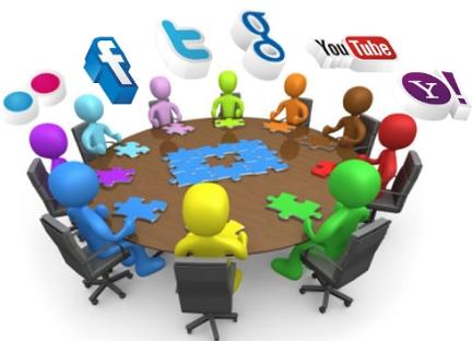 usuarios redes sociales grupos estereotipos roles web 2.0