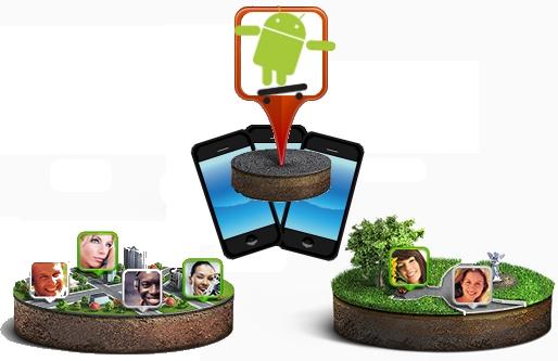 aplicacion social redes sociales android conocer gente amigos