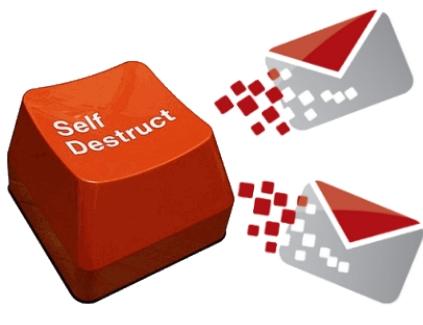 destruir email correo electronico seguridad privacidad tips aplicaciones