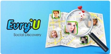 evry u aplicacion app social conocer gente