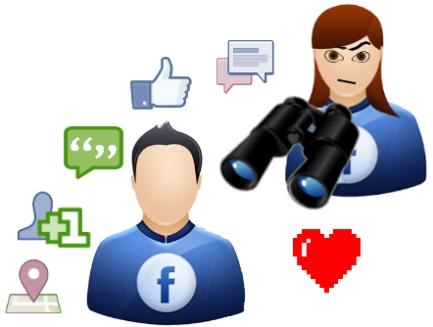 facebook usuarios seguridad privacidad monitoreo estudio mujeres