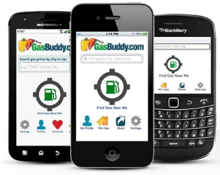 gass buddy aplicacion movil android iphone blackberry
