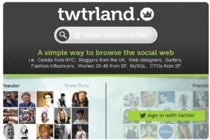 twtrland aplicacion web twitter usuarios tips