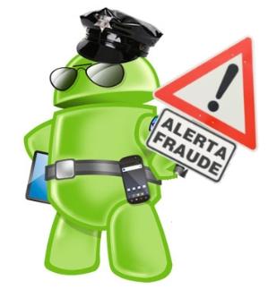aplicaciones fraude scam estafa movil