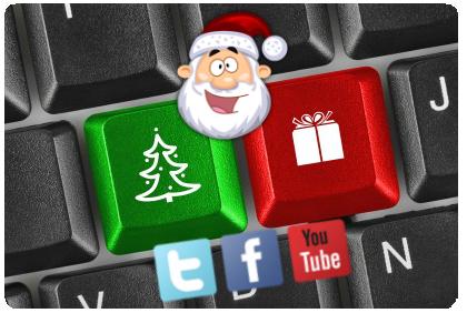humor geek redes sociales navidad web santa claus