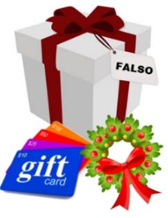 regalo falso fraude