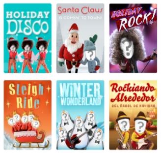 tarjetas de navidad virtuales navidad regalos