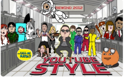 youtube rewind 2012 resumen videos viral popular