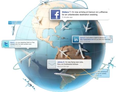 redes sociales viajes y turismo