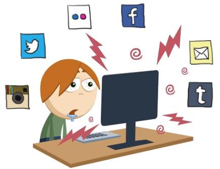 web usuarios internet smartphone redes sociales social media desventajas video