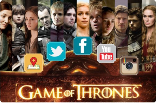 game of thrones social media herramientas seguidores fans usuarios