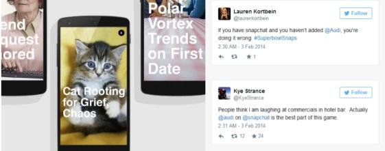 SnapChat Audi marketing redes sociales
