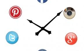 Horarios horas publicar popular mejores redes sociales tips marcas empresas