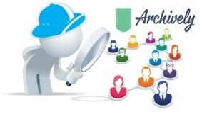 Archively aplicacion CRM redes sociales datos personales privacidad usuarios