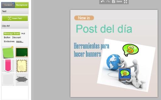 Fotor app web herramienta diseño banners publicidad imagenes